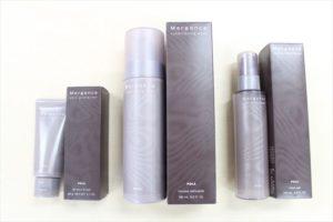 POLAマージェンスシリーズの本品とパッケージを並べた画像2