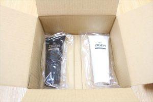 箱の中のZIGEN商品の画像