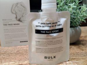 バルクオム洗顔料フェイスウォッシュ本体とはこの画像