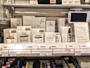 ロフト押上店のバルクオム販売コーナーの画像